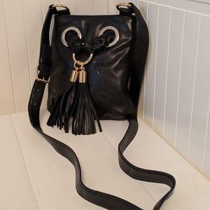 Michael Kors Braided Grommet Crossbody Bag